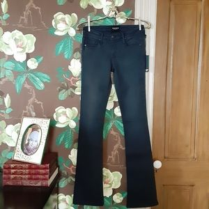 BLACK ORCHID Charcoal India Slim Bootcut Size 26